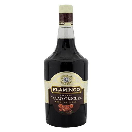Licor de Crema de Cacao Obscura 1 Lt Flamingo
