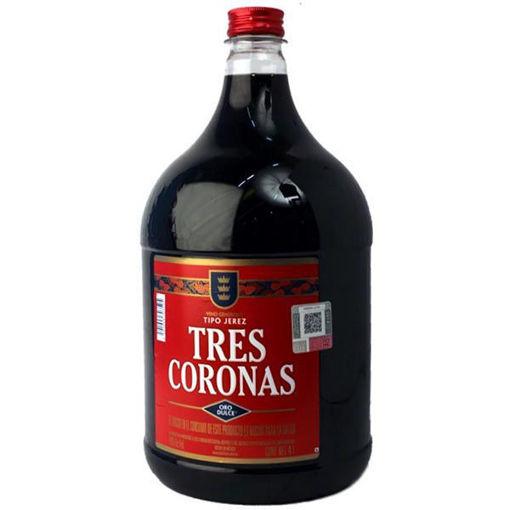 Jerez Botella Tres Coronas 4 Lt