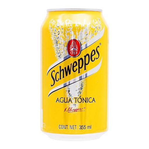 AguaTonicaSchweppesLata355mlPeñafiel