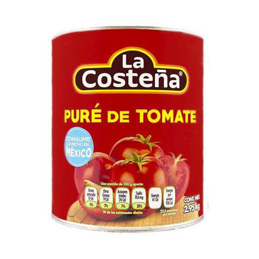 TomateEnPureLata3kgLaCosteña