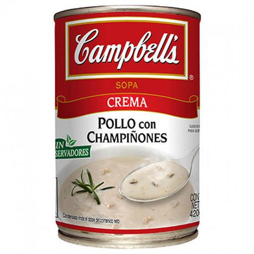 CremaChampiñones420grCampbells