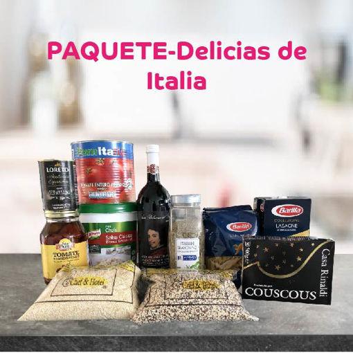 Paquete-Delicias de Italia