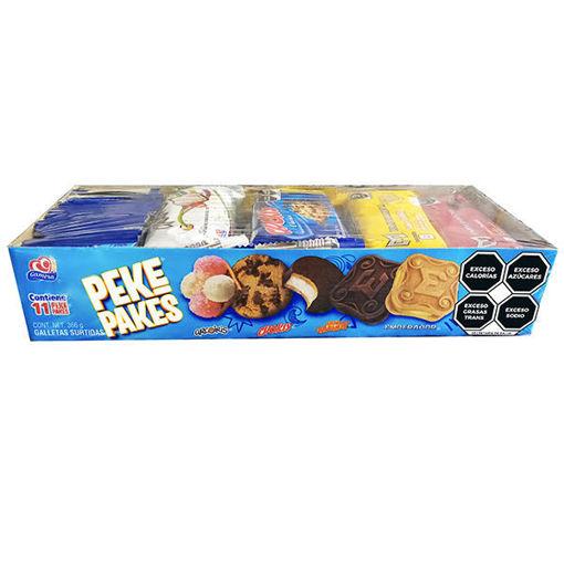 Galleta Peke Pakes Gamesa 11 pz 366g