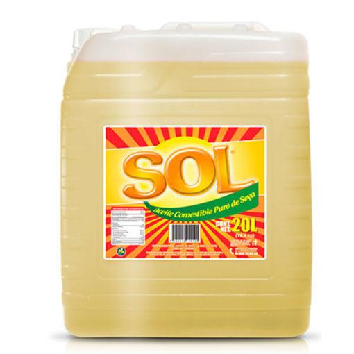 Aceite Puro De Soya Sol