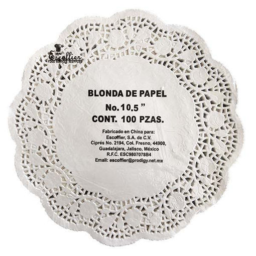 Blonda De Papel No 10.5
