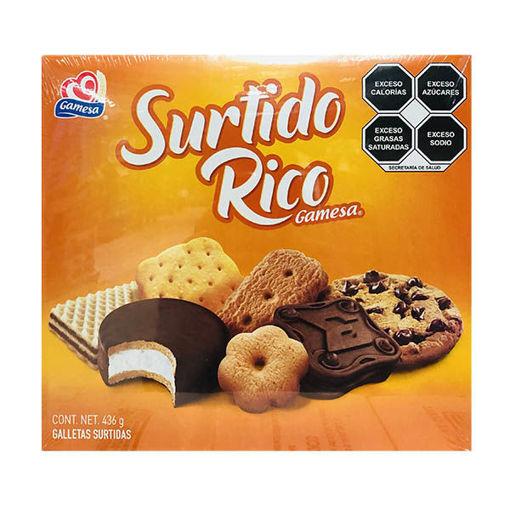 Galletas Surtido Rico Gamesa paquete de 436 Gr