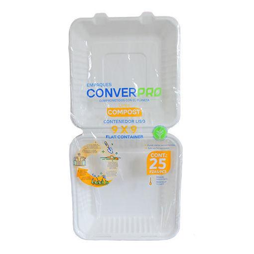 Contenedor Liso 9x9 ConverPro