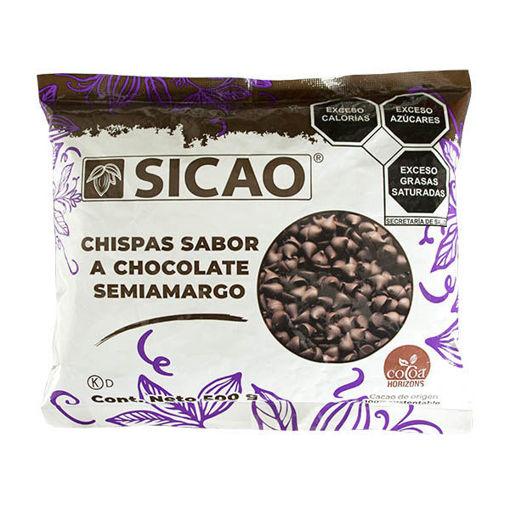 Chispas Chocolate Semiamargo Sicao